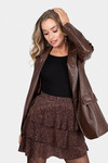 Snake jacket brown