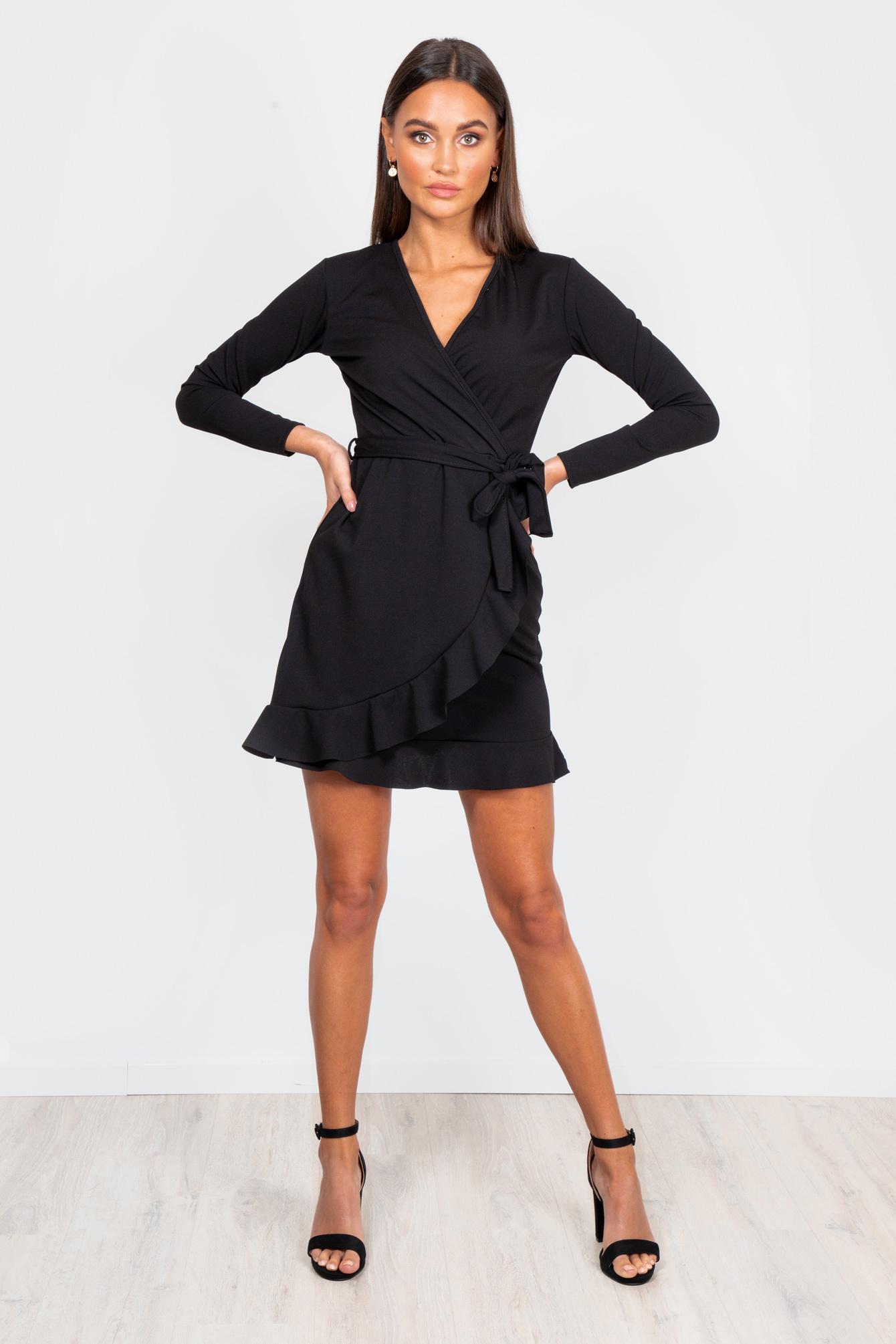 Zwart jurkje Selena