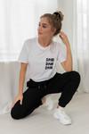 T-shirt Sofie wit
