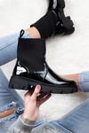 Lak boots Helga