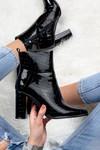 Croco lak heels Tori