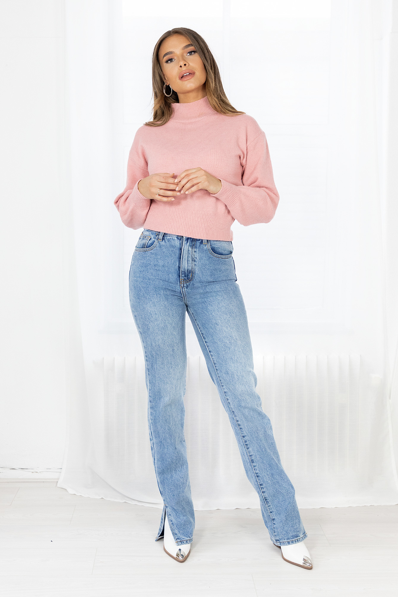 Knit Tianna  pink