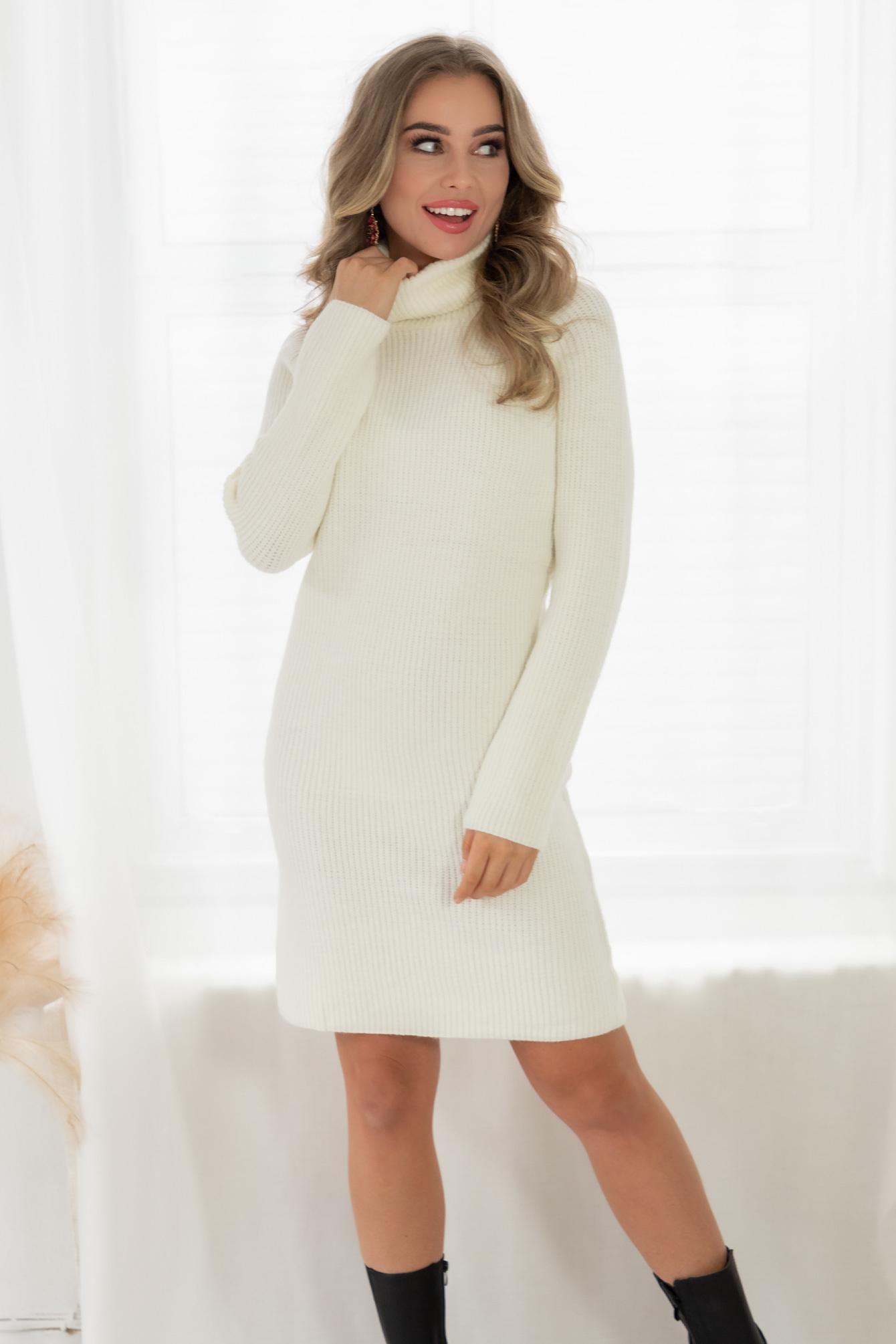 Sweater dress off white Mandy