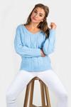Trui Vivianne blauw