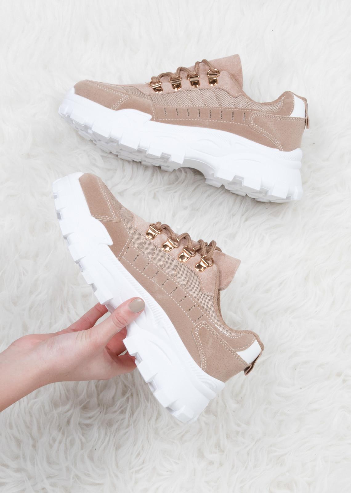 Sneaker Kimberly beige