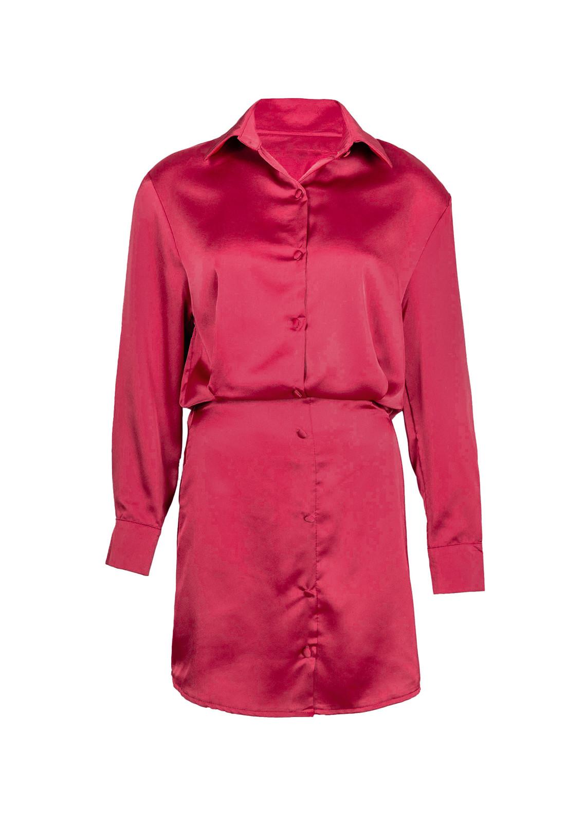 Satin dress Jaimy