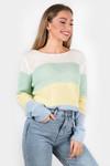 Sweater Amy yellow stripe