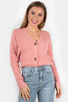 Button knit Vaja pink