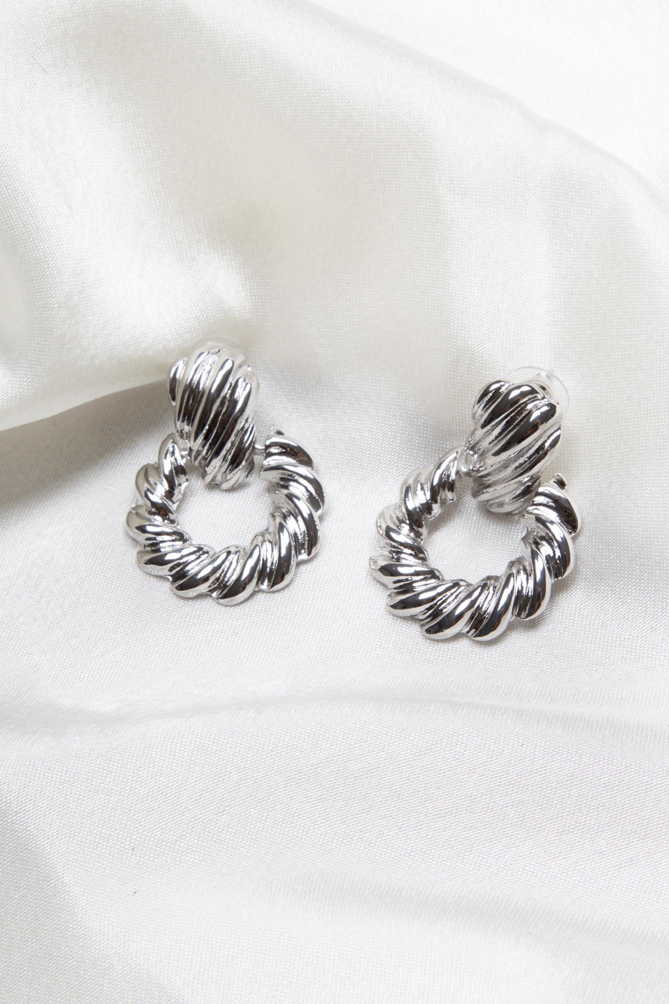 Earring Faya silver