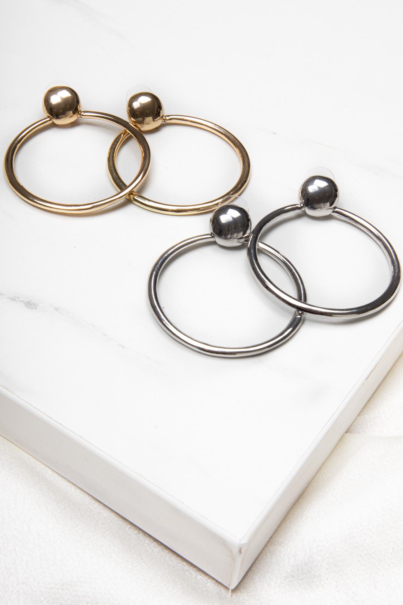 Earring Gabi silver
