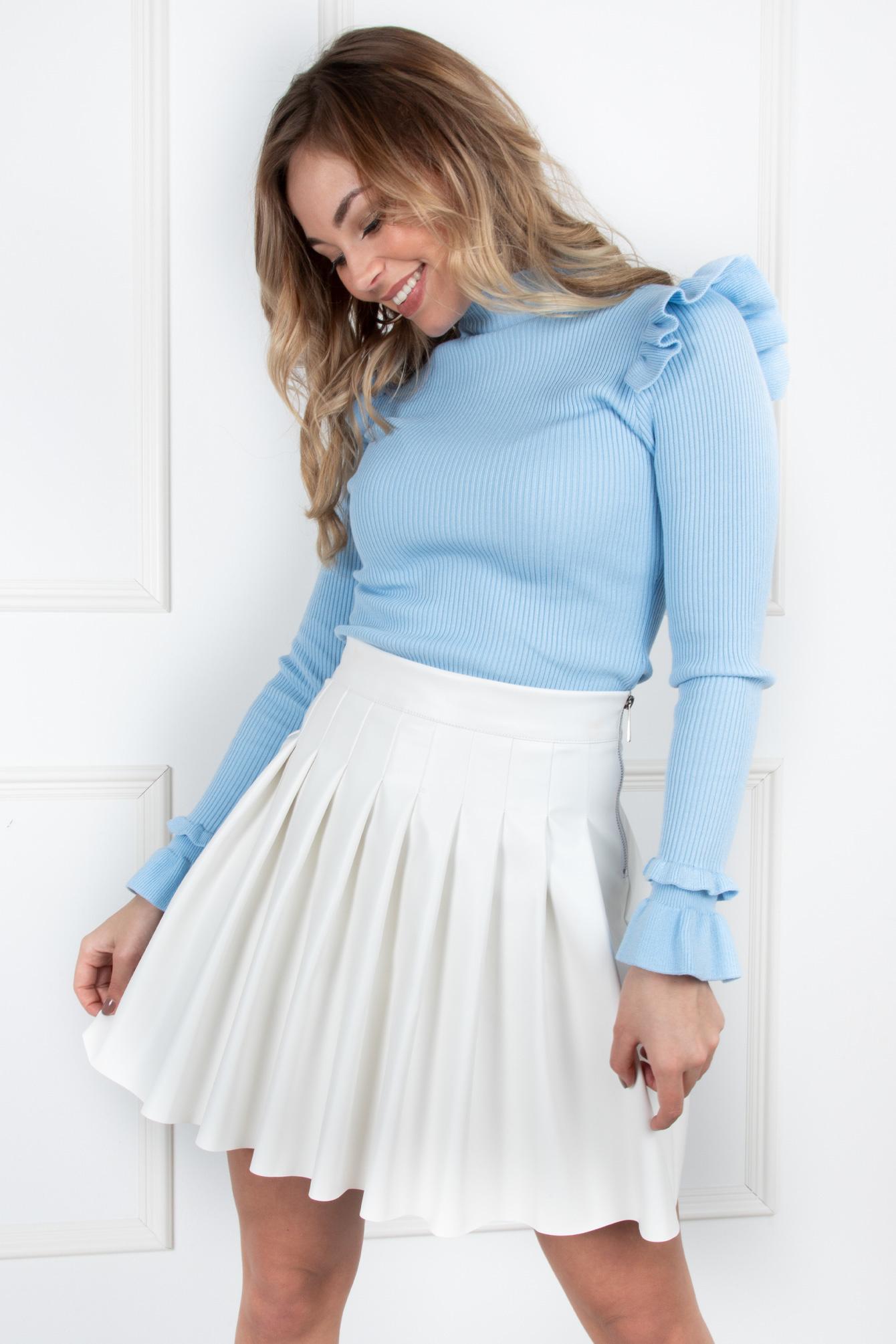 Basic top Cindy blauw