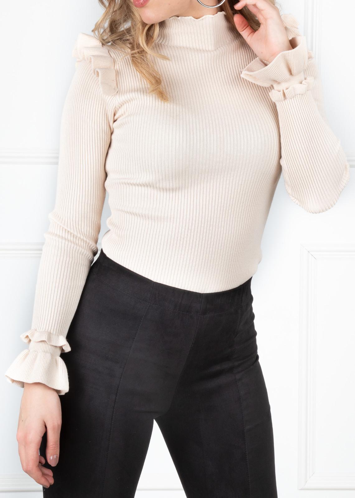 Basic top Cindy beige