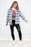 Tartan blouse Mindy