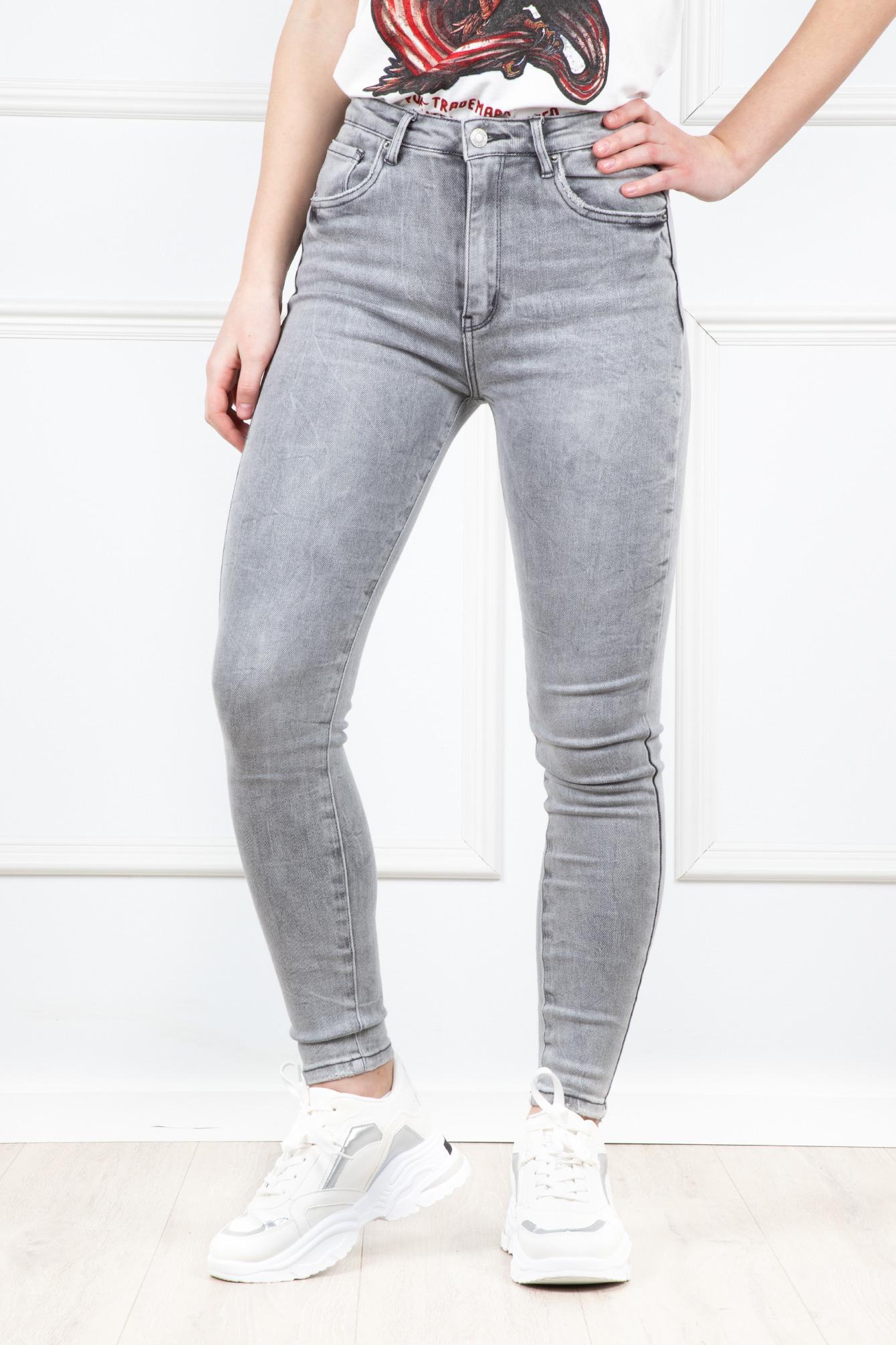 Spijkerbroek Fenna grijs