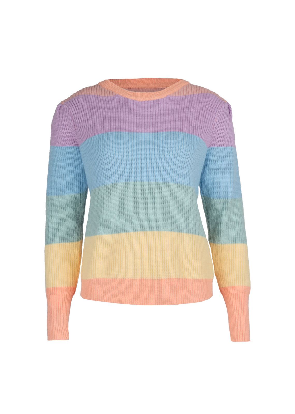 Stripe sweater Happy