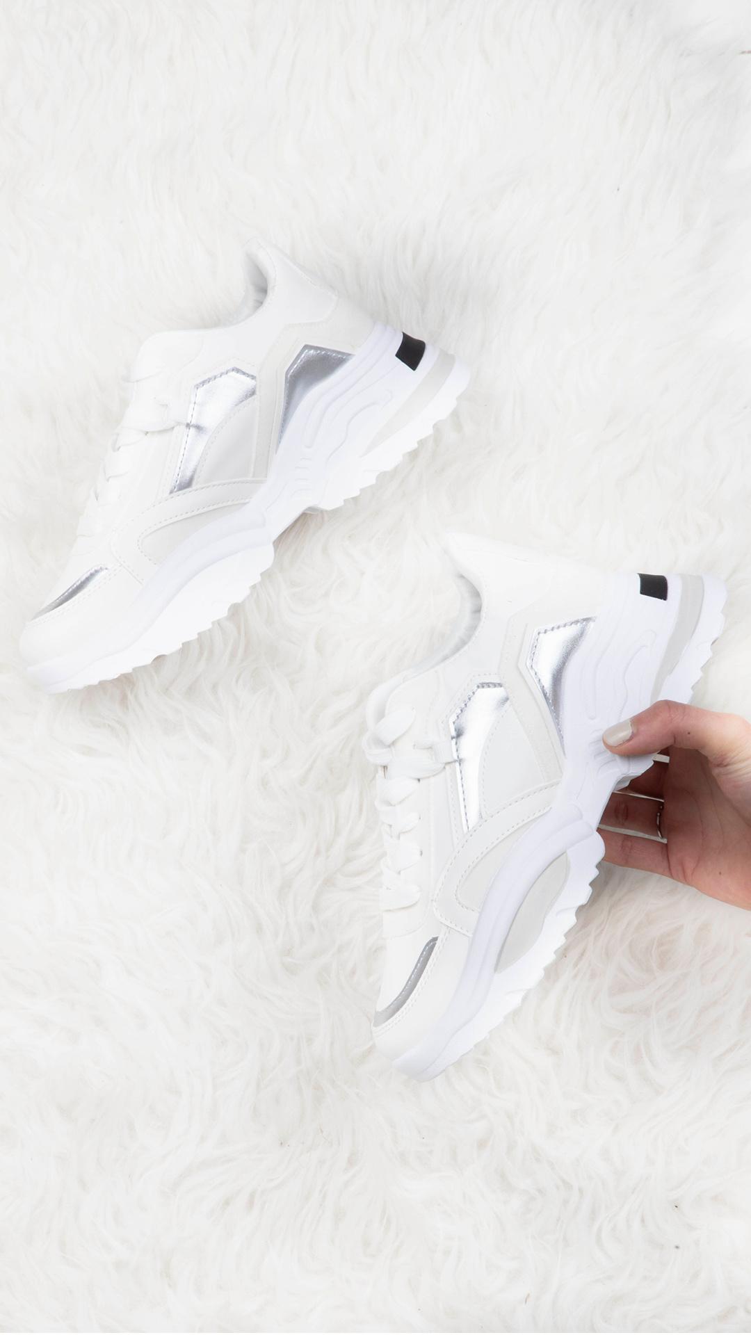 Sneaker Nina wit