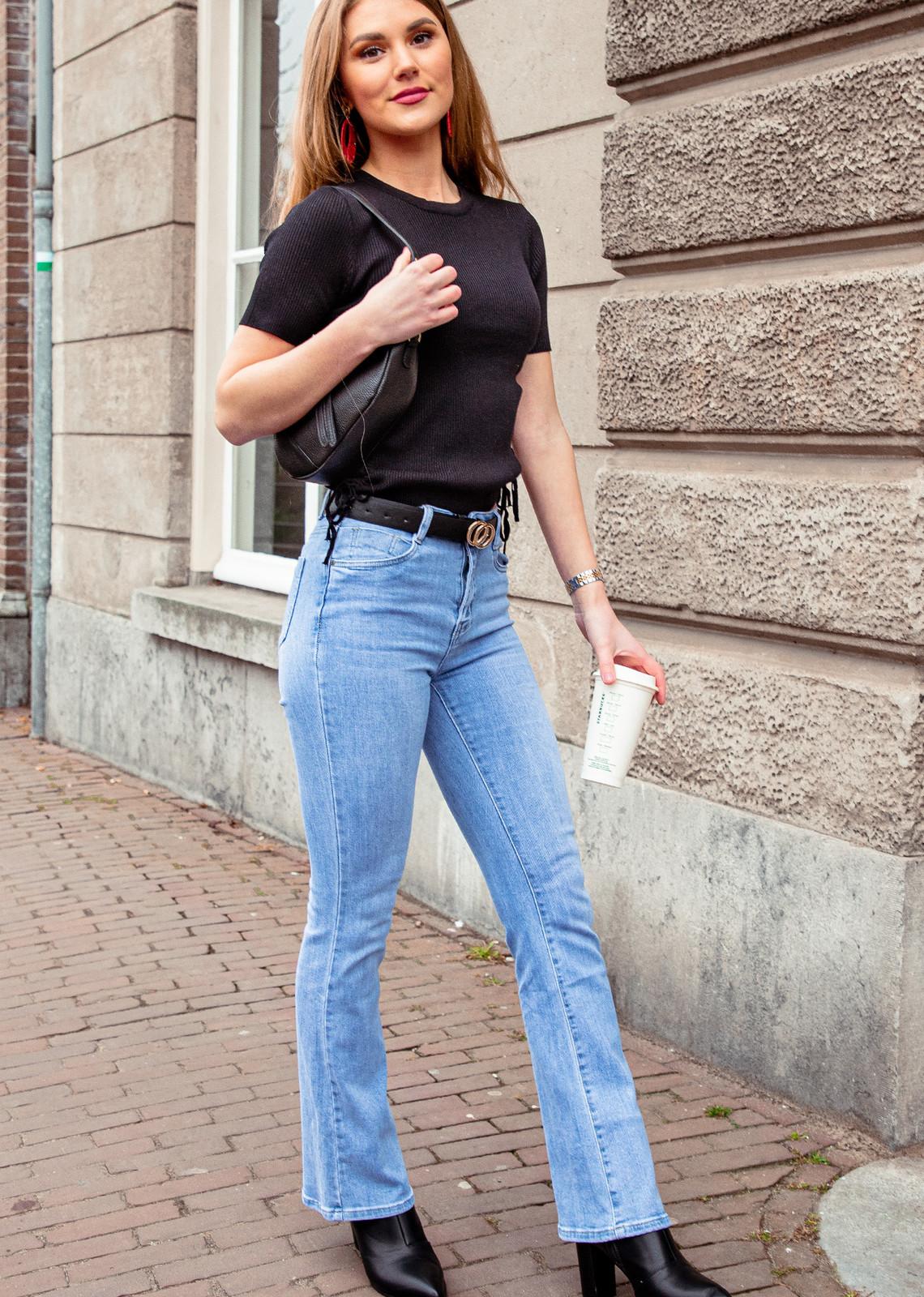 Flare  denim jeans Mandy