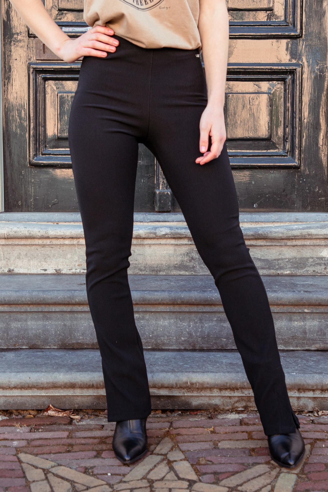 Flare broek Cari zwart