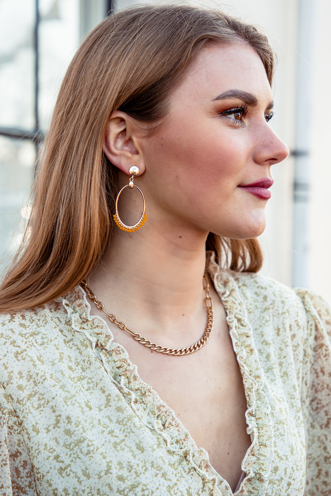 Earring Yellow