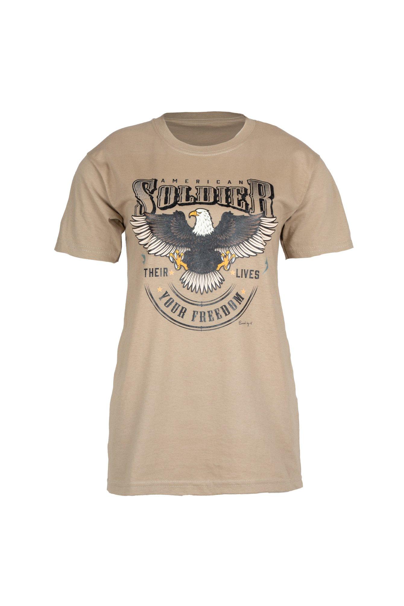 T-shirt Soldier beige