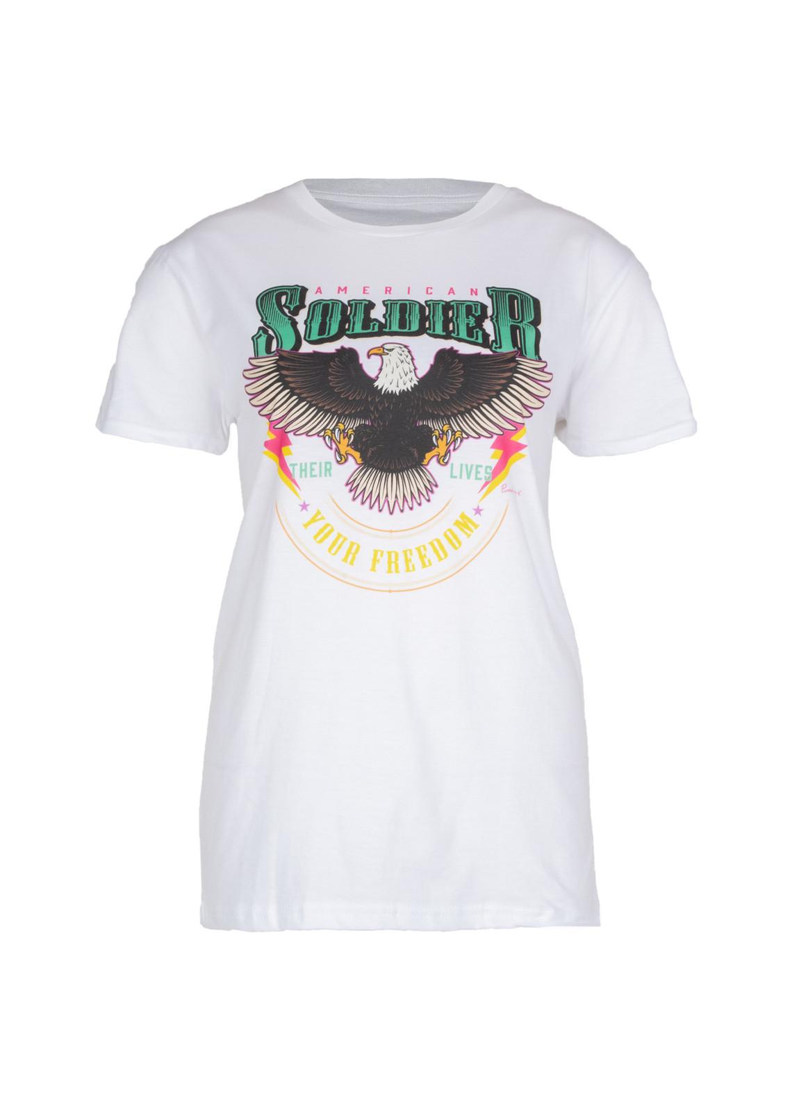 T-shirt Soldier white