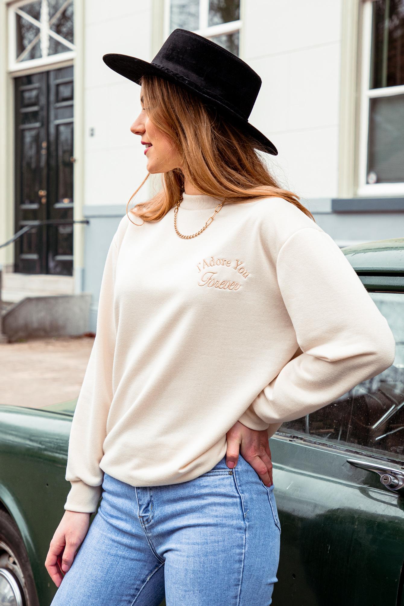 Sweater Jádore beige