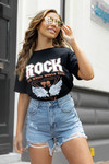 Rock shirt zwart