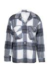 Tartan blouse Clair blauw