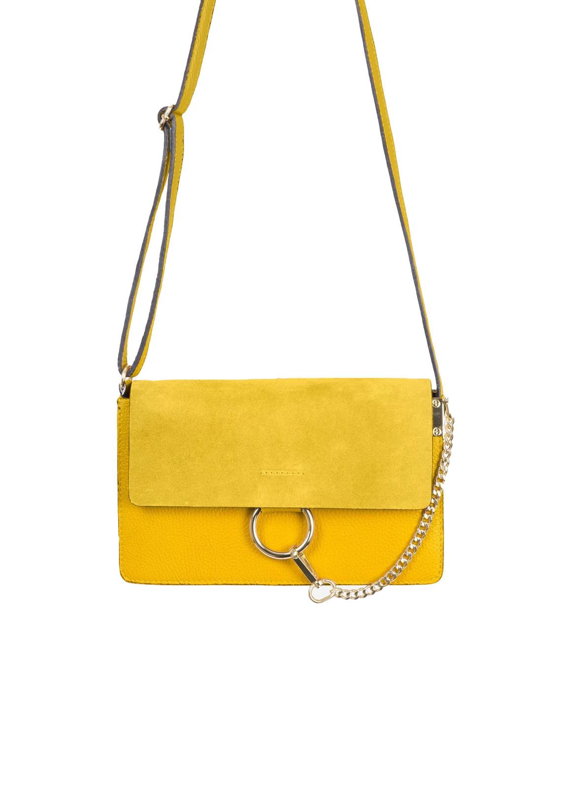 Crush on you bag yellow