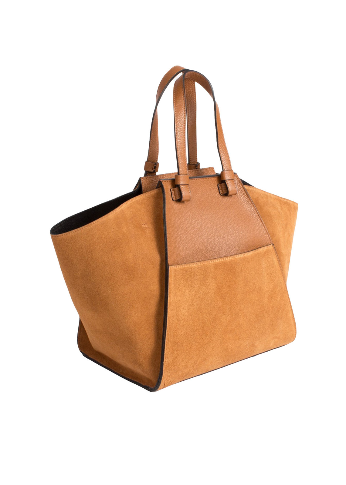 Luxury bag camel