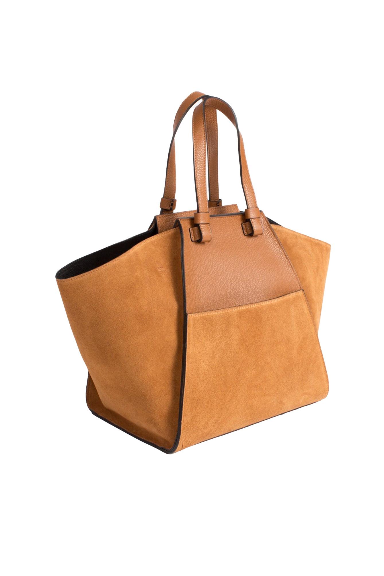 Luxury bag camel