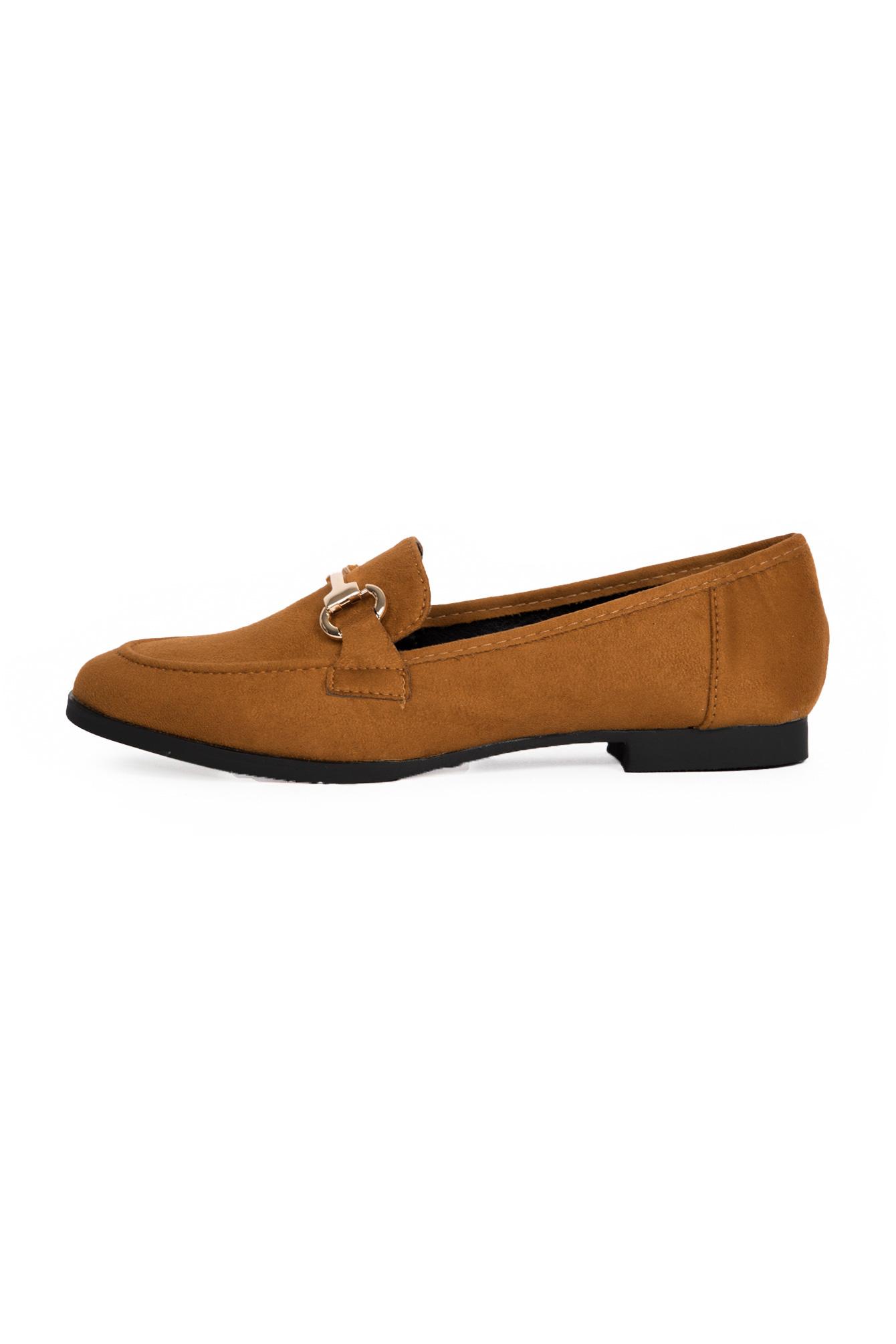Camel loafer