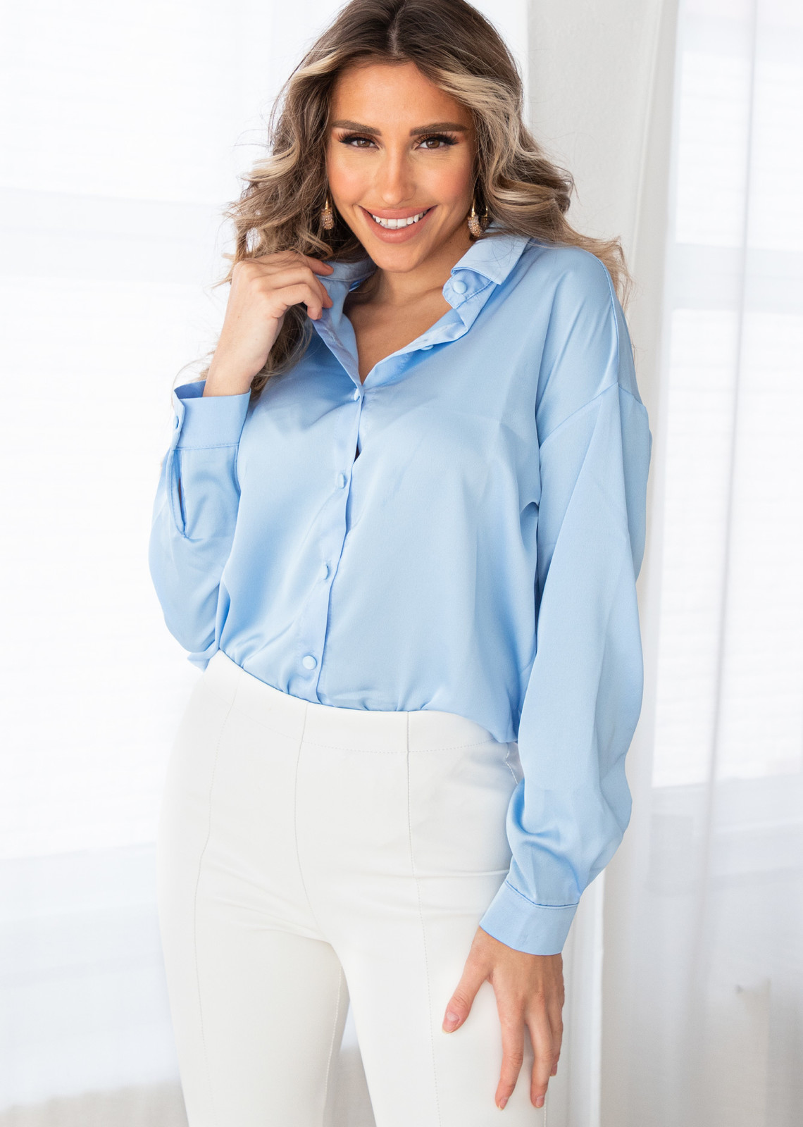 Blouse Josi blue