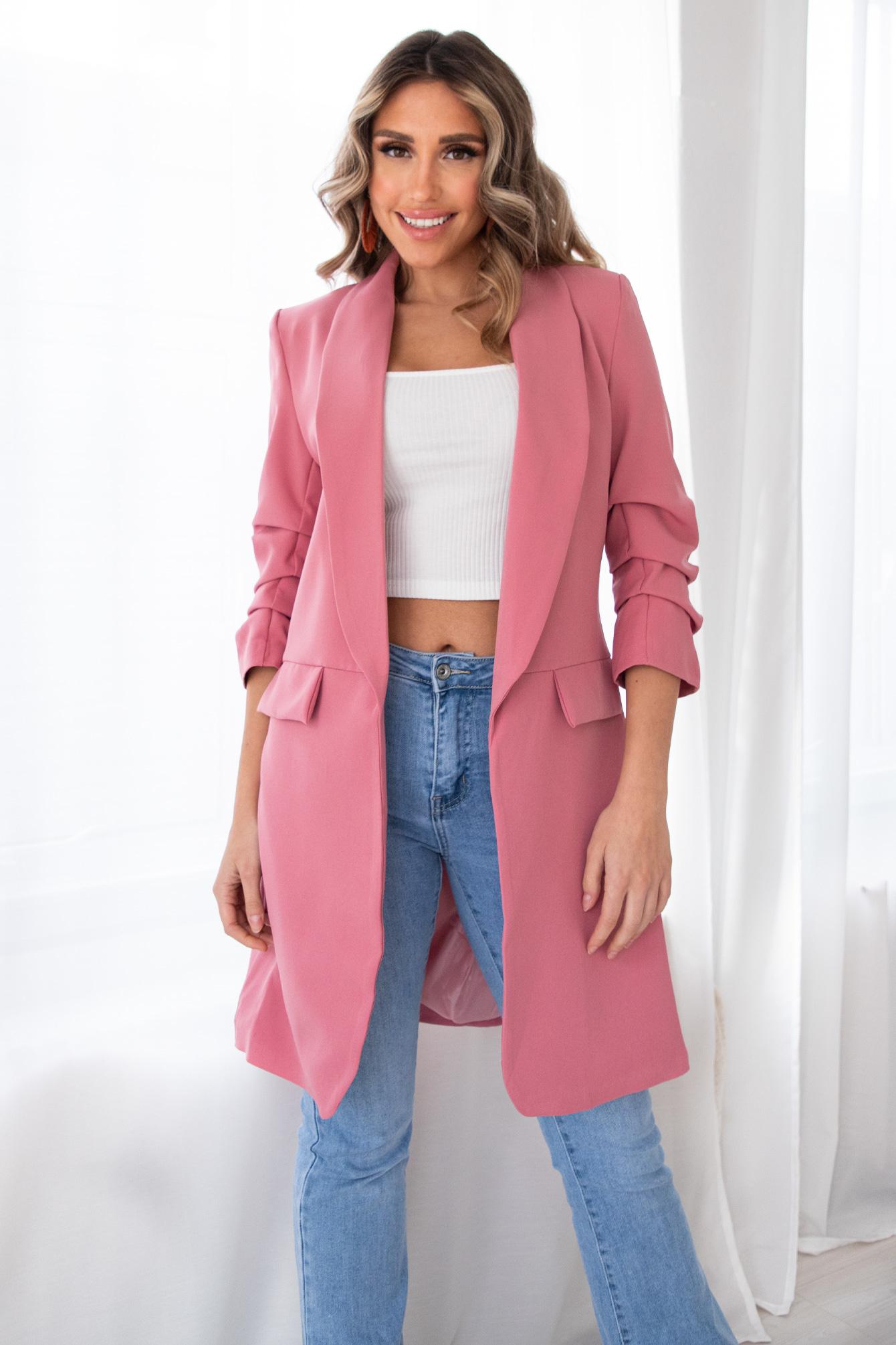 Blazer Liva Pink