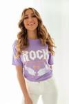 Rock shirt lila