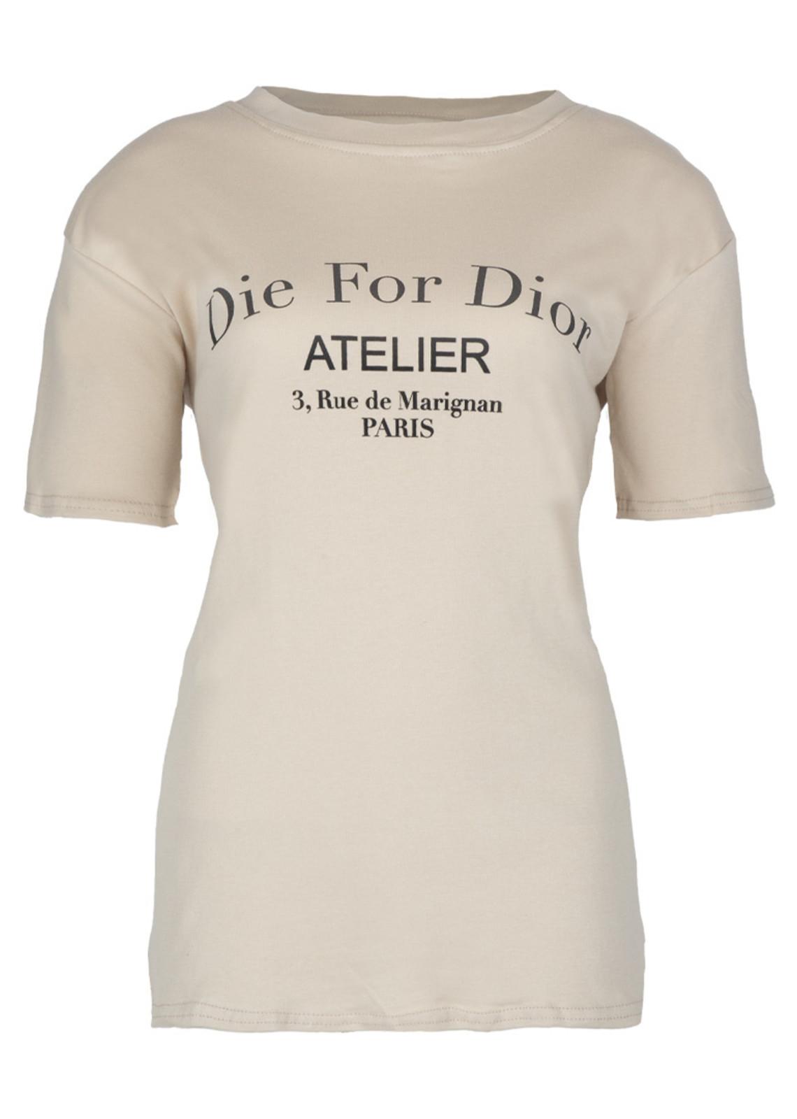 Die for shirt beige