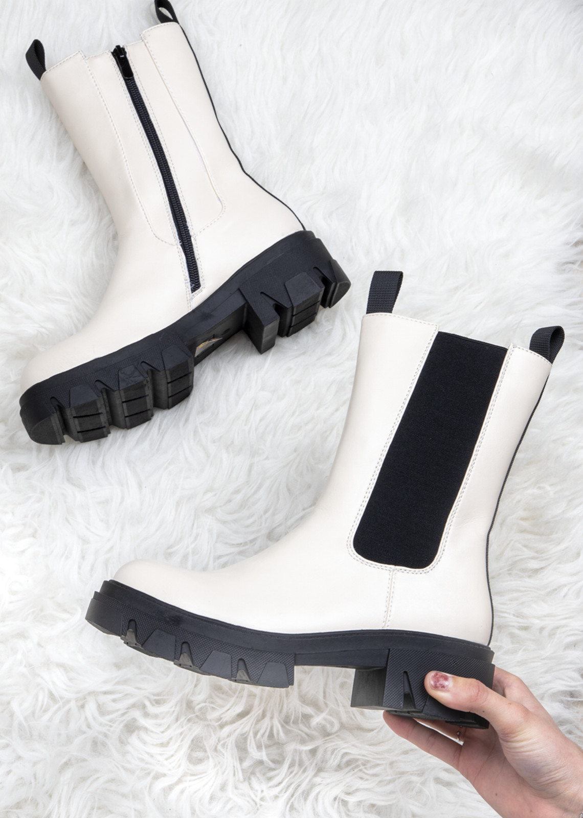 Boots Cato beige
