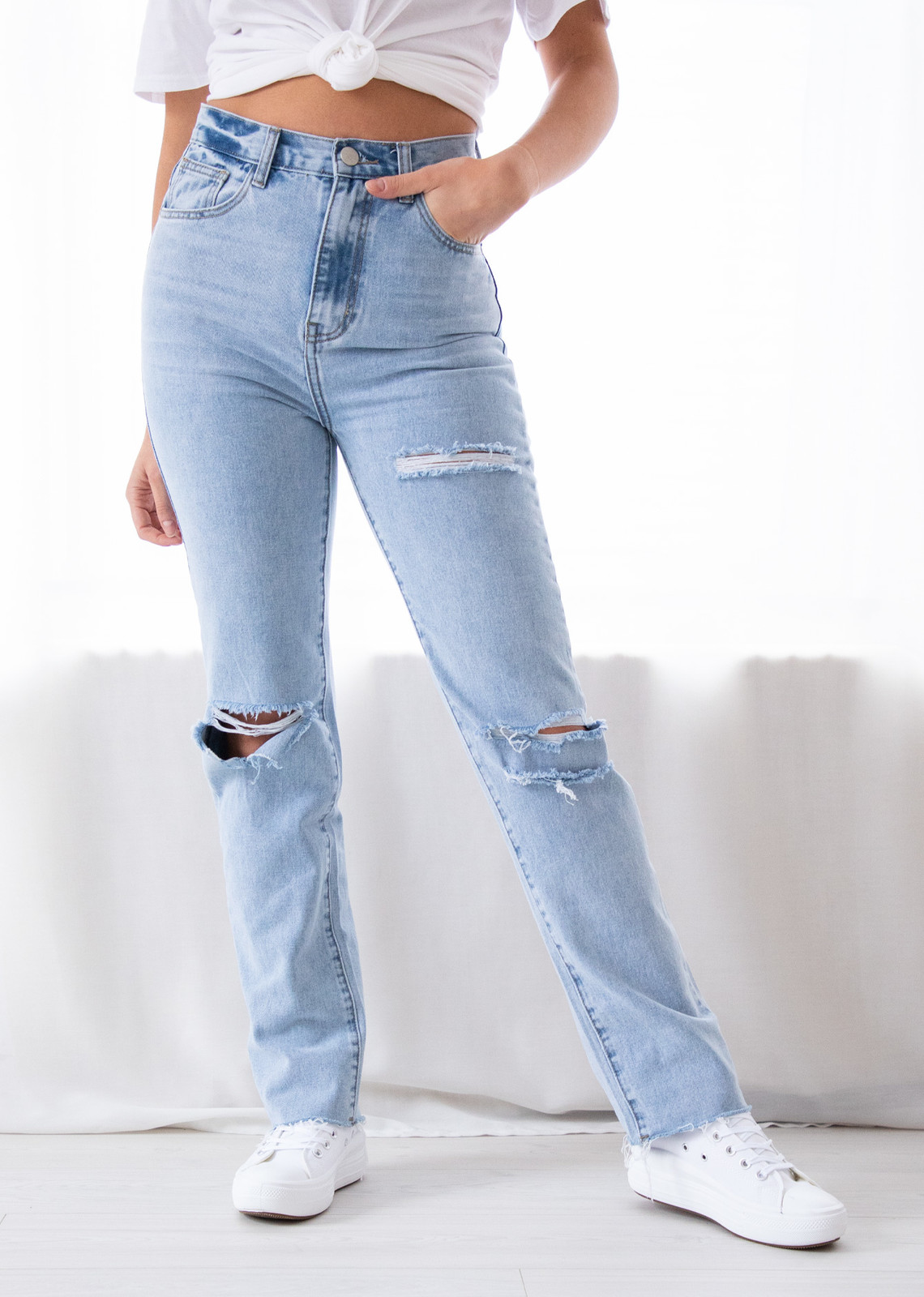 Cut out jeans Lotte