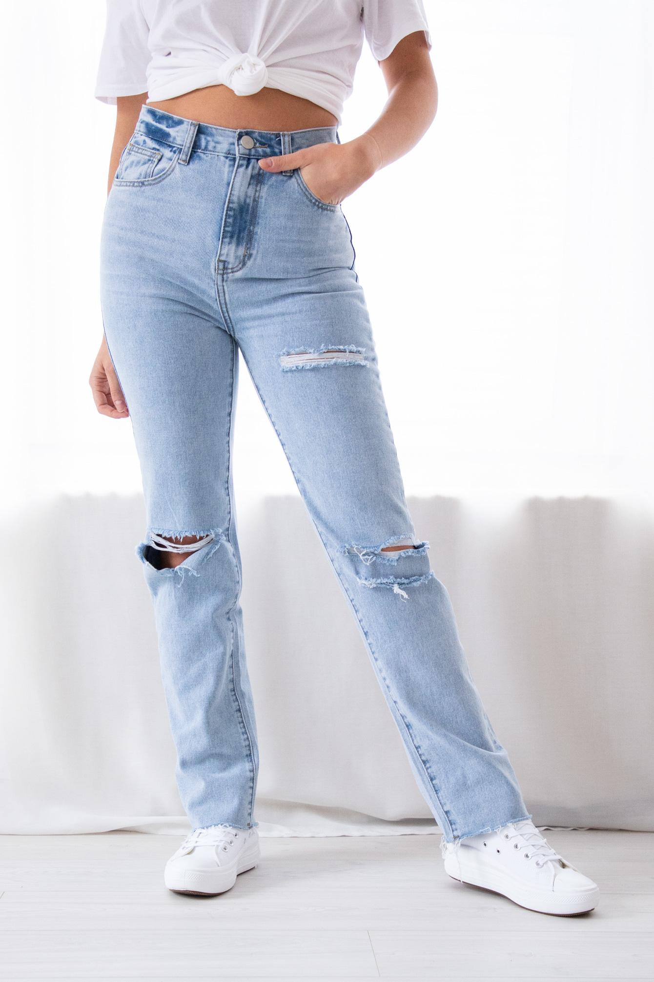 Cut out jeans Lotte