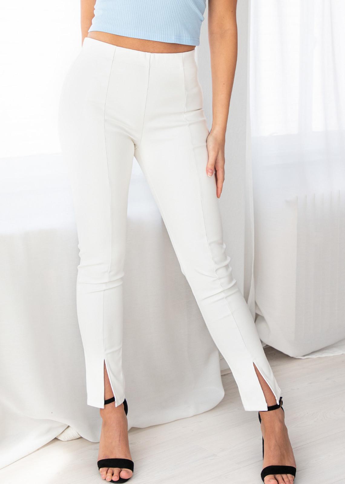 Legging broek Khloe wit