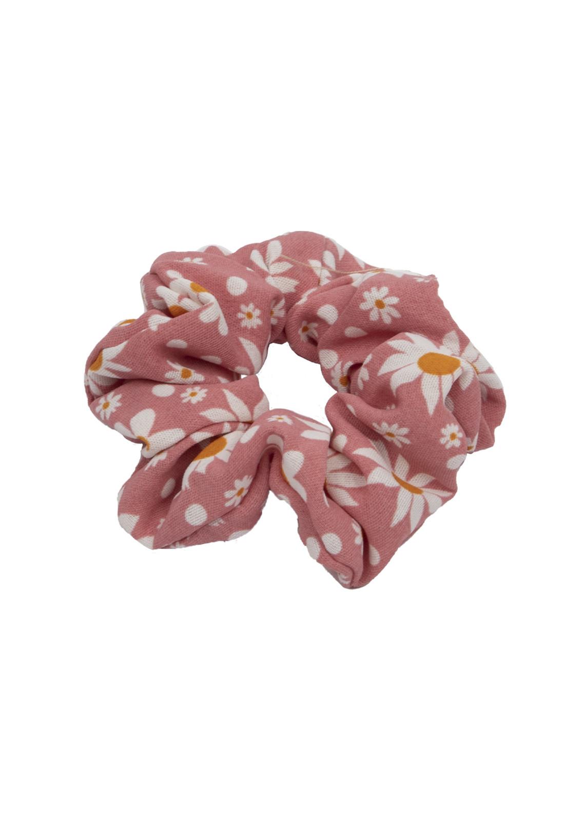 Scrunchie Flower pink