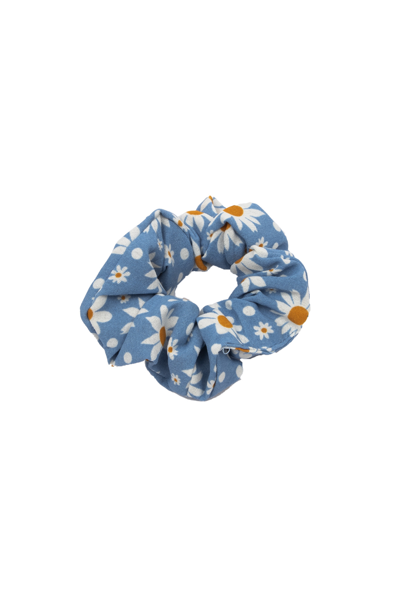 Scrunchie Flower blue
