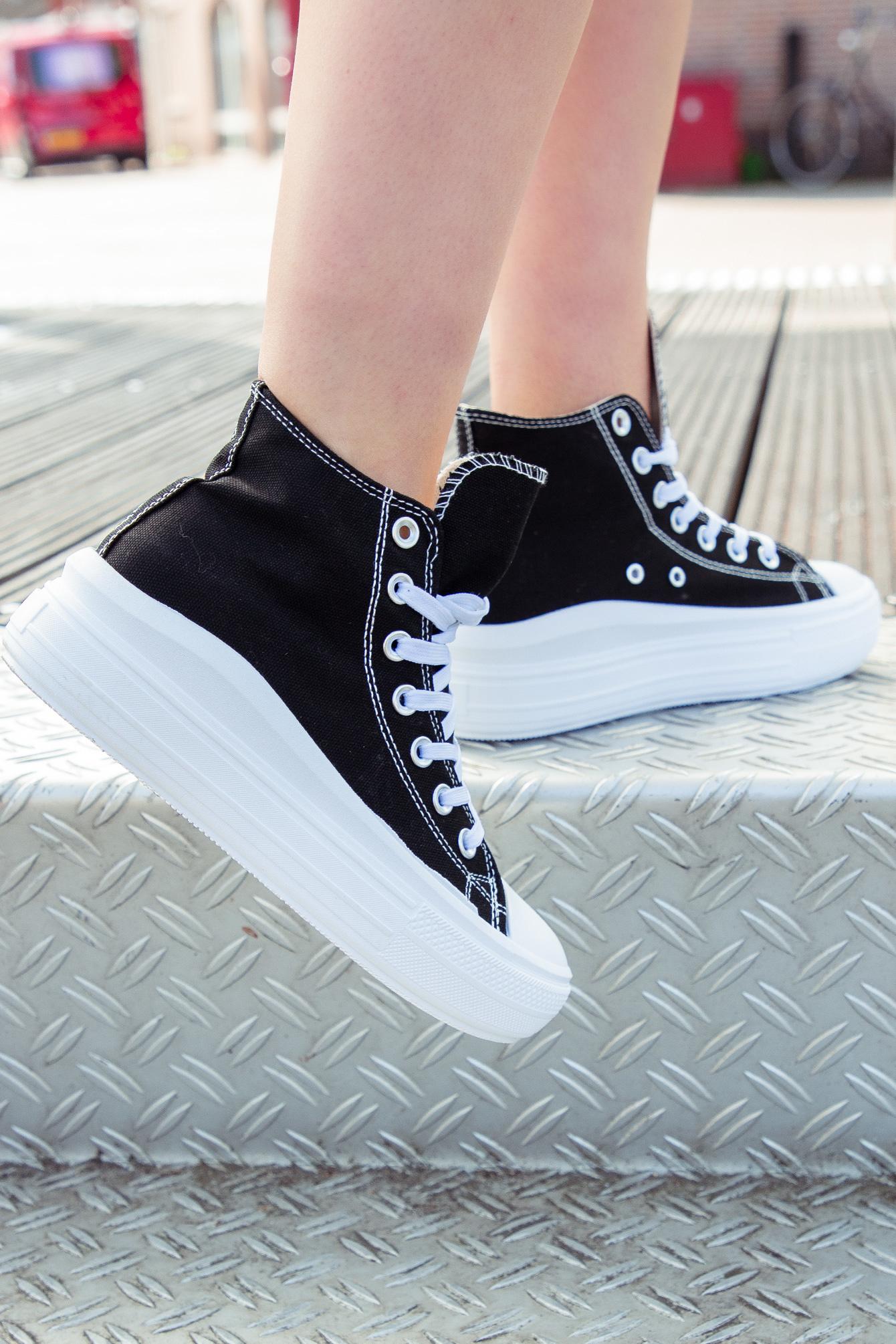 Sneaker Iris zwart