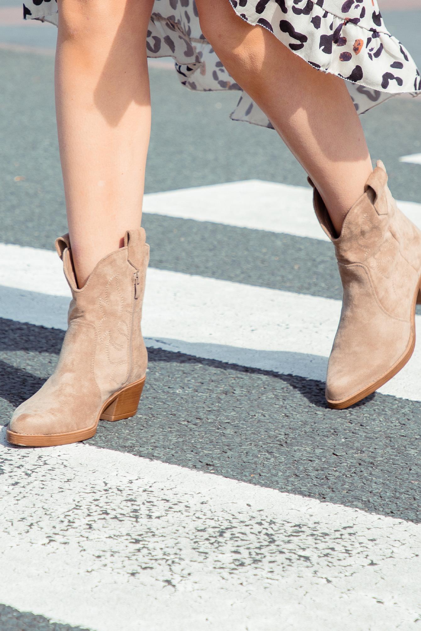 Cowboy boots Anna beige