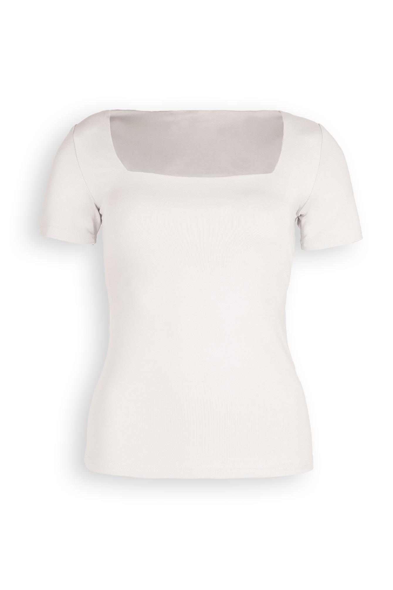 Basic top Sofia white