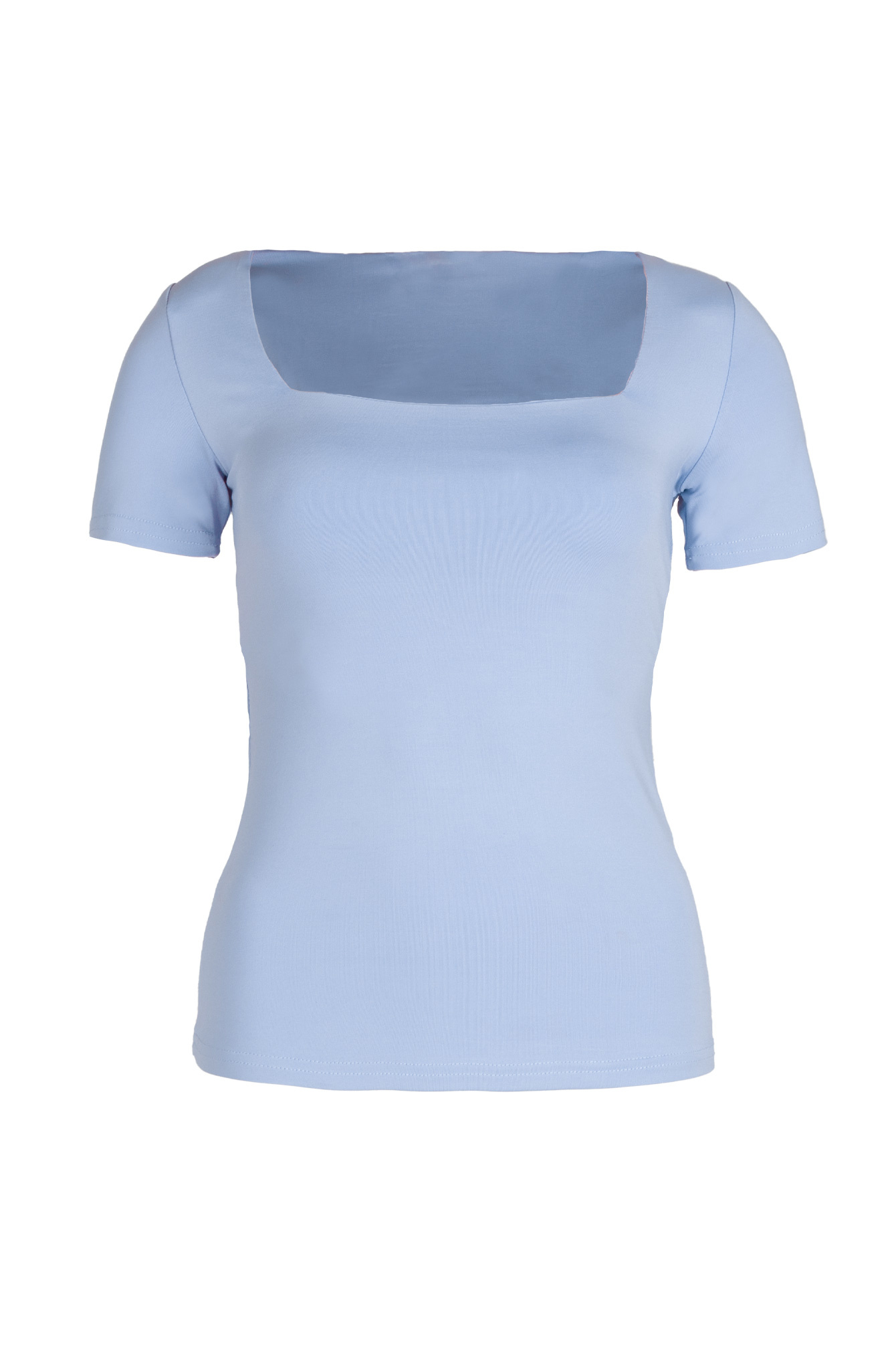 Basic top Sofia blue