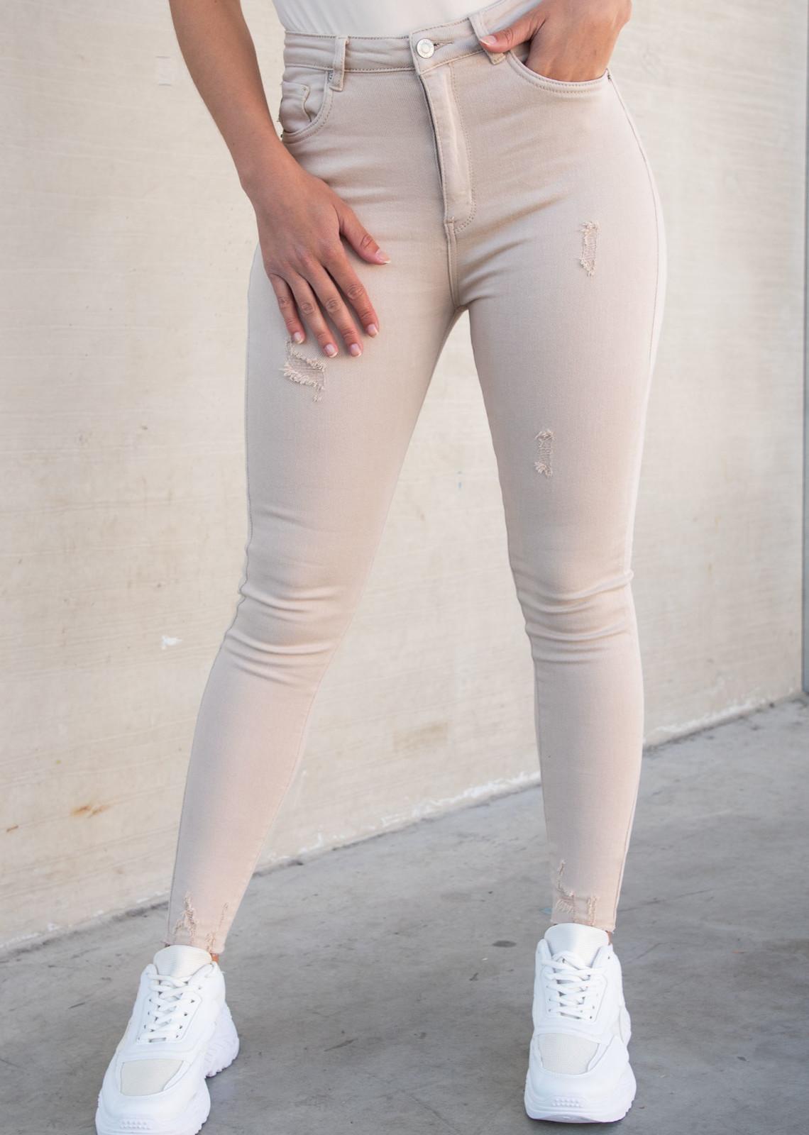 Jeans Naomi beige