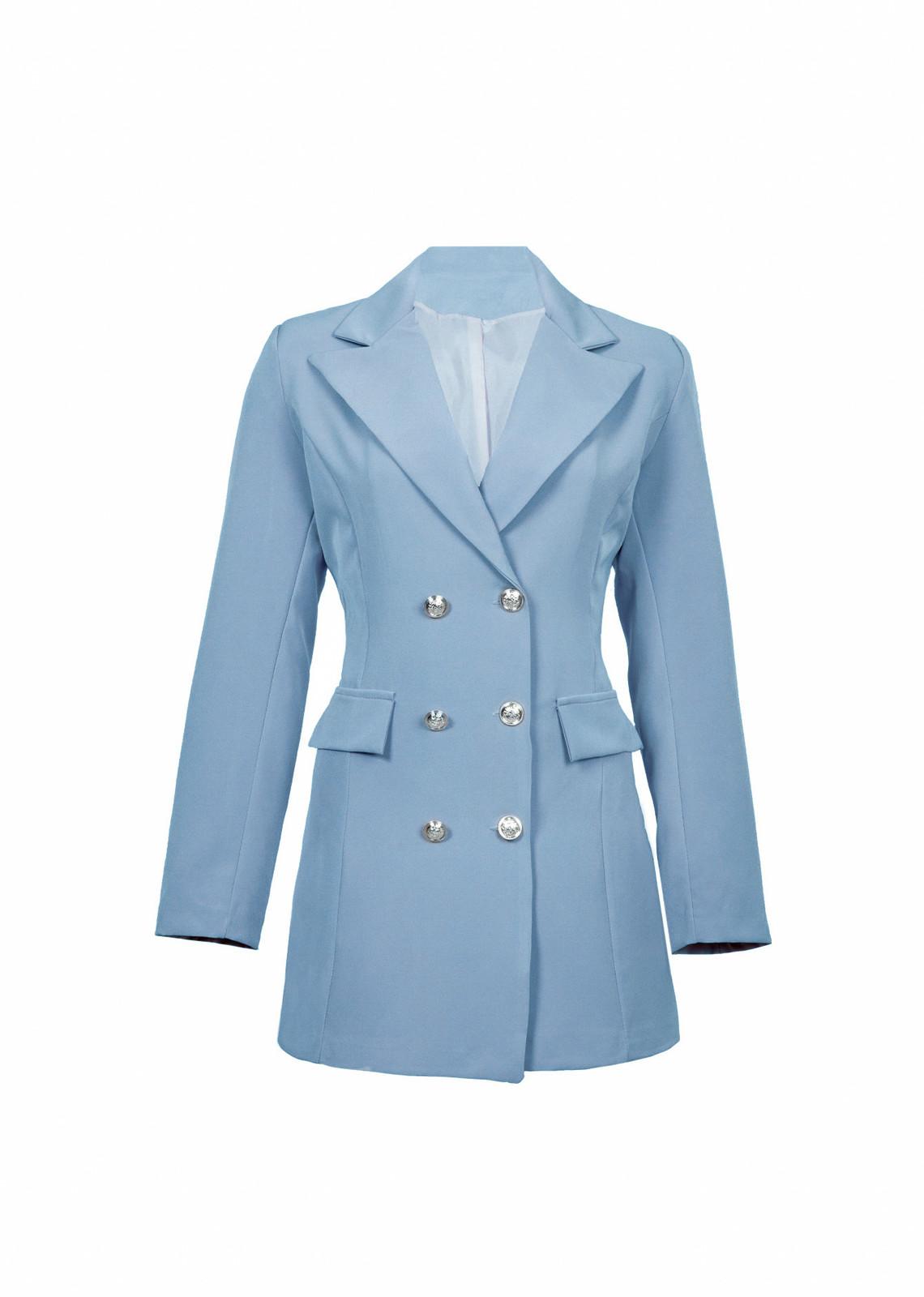 Blazer Sara blauw