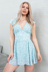 Playsuit/dress Layla blauw