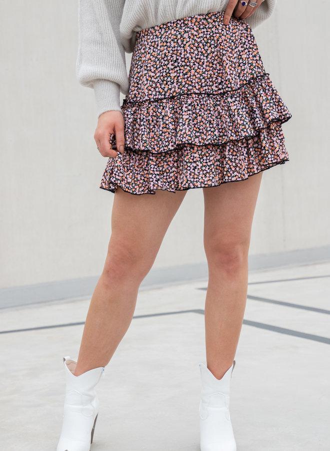Flower rok Laila  roze